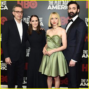 Winona Ryder & Zoe Kazan Join Co-Stars At 'Plot Against America' Premiere