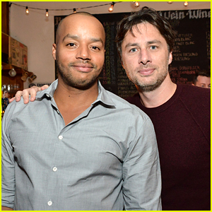 Zach Braff & Donald Faison Have 'Scrubs' Reunion With Their Own Podcast!