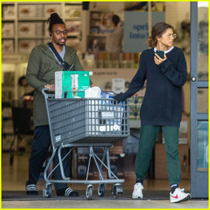 Zendaya Stocks Up on Essentials Amid Coronavirus Crisis