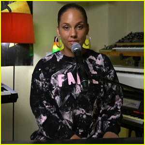 Alicia Keys Debuts Her Quarantine Rendition of Flo Rida's 'My House' on 'The Late Show'! (Video)
