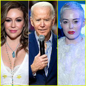 Alyssa Milano Explains Silence on Allegations Against Biden, Rose McGowan Goes After Her