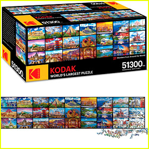 Amazon Is Selling the World's Largest Puzzle, Which Has 51,300 Pieces!