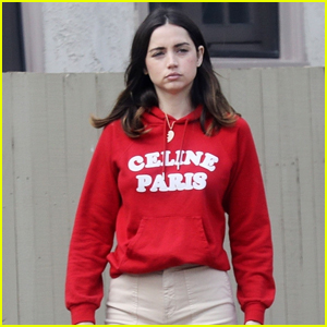 Ana de Armas Takes Her Dog Elvis for Late Afternoon Stroll