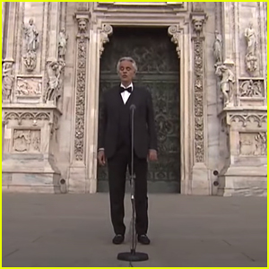 Andrea Bocelli Delivers Moving Easter Sunday Performance From Milan's Duomo - Watch Here!