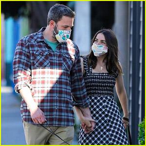 Ben Affleck & Ana de Armas Go for a Sunset Stroll While Wearing Their Masks