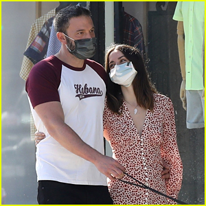 Ben Affleck Wears Shirt from His & Ana de Armas' Havana Trip During Their Thursday Stroll