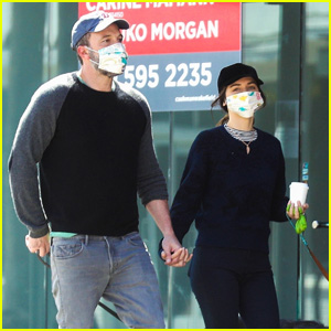 Ben Affleck & Girlfriend Ana de Armas Take a Stroll Wearing Masks Amid Pandemic