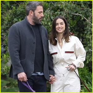 Ben Affleck & Girlfriend Ana de Armas Enjoy a Stroll Together on Easter Amid Quarantine
