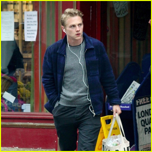 Ben Hardy Steps Out to Pick Up Supplies in London Amid Quarantine