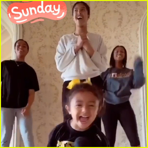 Bianka Bryant Crashes Big Sister Natalia's Dance Video & It's the Cutest Thing Ever - Watch!