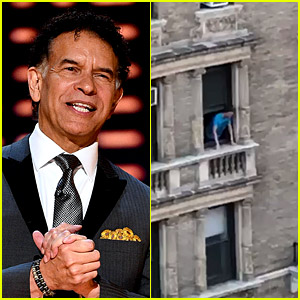 Broadway Star Brian Stokes Mitchell Sings 'The Impossible Dream' from His Apartment Window in NYC - Watch Video!