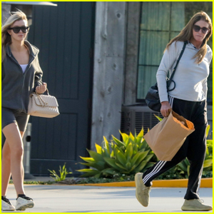 Caitlyn Jenner & Sophia Hutchins Grab Dinner to Go Amid Pandemic in Malibu