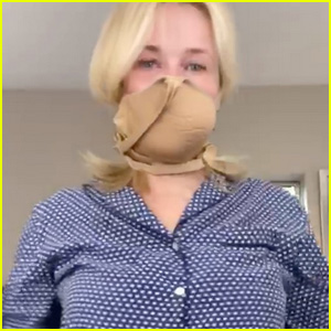 Chelsea Handler Turns Her Bra Into a Face Mask Amid Pandemic - Watch! (Video)