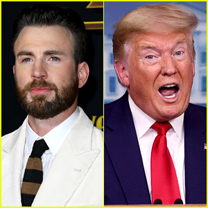 Chris Evans Explains Why He's Slowing Down on Trump Tweets