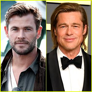 Chris Hemsworth Meets Brad Pitt, Gets Starstruck
