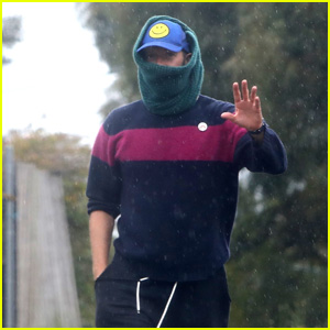 Chris Martin Covers Up in a Scarf While on a Stroll With a Friend Amid Pandemic