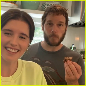 Chris Pratt Hilariously Crashes Wife Katherine Schwarzenegger's Baking Tutorial!