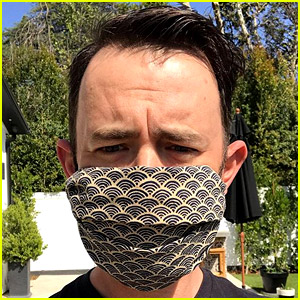 Colin Hanks Shows How to Turn a Bandana Into a Face Mask
