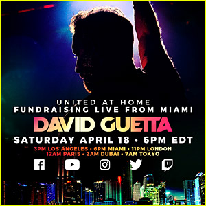David Guetta Goes Live on YouTube With a DJ Set from Miami - Watch Now!