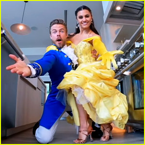 Watch Derek Hough & Hayley Erbert Perform 'Be Our Guest' (in Full Costume) for Disney Special!