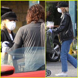 Diane Kruger Covers Up for Grocery Store Run with Norman Reedus