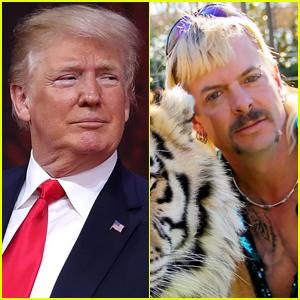 President Trump Addresses Possibly Pardoning 'Tiger King' Star Joe Exotic
