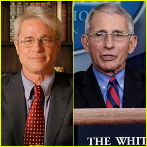 Dr. Fauci Reacts to Brad Pitt Playing Him on 'SNL'