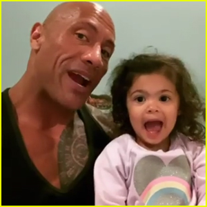 Dwayne Johnson Sings 'You're Welcome' from 'Moana' to Daughter Tiana Every Night - Watch!