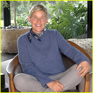 Ellen DeGeneres Teaches Fans How to Make a Mask at Home