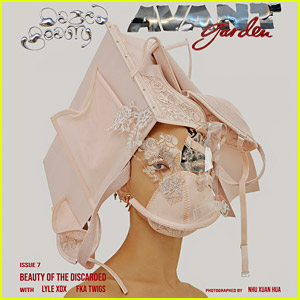 FKA twigs Made Masks Out of Discarded Fashion & They Are Works of Art