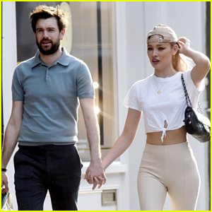 Jack Whitehall Holds Hands with New Girlfriend Roxy Horner During a London Stroll