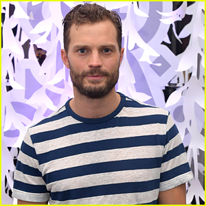 Jamie Dornan Watches His New Movie 'Trolls' With His Daughters