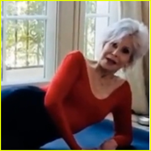 Jane Fonda Joins TikTok, Brings Back Her Famous '80s Workout Routine! (Video)