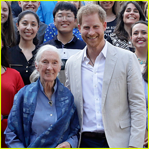 Jane Goodall Says Prince Harry Hinted at Royal Exit 8 Months Beforehand