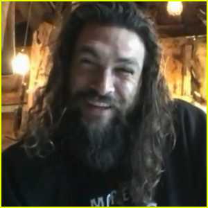 Jason Momoa Reveals His New Job While in Quarantine - Watch! (Video)