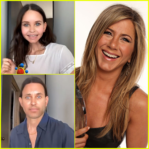 Jennifer Aniston Reacts To Courteney Cox's Tik Tok Challenge Video