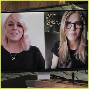 Jennifer Aniston Helps Jimmy Kimmel Surprise a Nurse Who Contracted Coronavirus