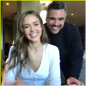 Jessica Alba & Husband Cash Warren Talk To 'Fallon' About Giving Back During Pandemic! (Video)