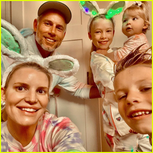 Jessica Simpson Shares Tons of Family Photos on Easter!