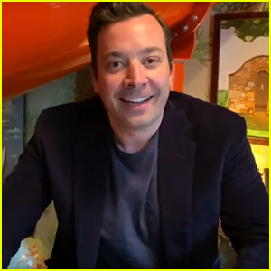 Jimmy Fallon Takes Viewers on Virtual Ride Down His Indoor Slide! (Video)