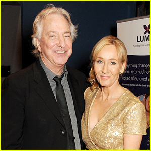 J.K. Rowling Remembers Alan Rickman in Emotional Tweet (& We're Not Crying, You Are)