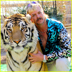 Joe Exotic Reveals Which Two Celebrities He Wants to Play Him in a Movie!