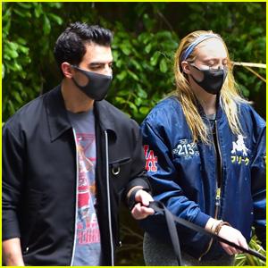 Joe Jonas & Sophie Turner Step Out to Walk Their Dogs Amid Quarantine