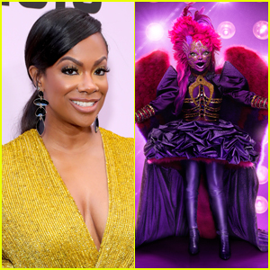 Kandi Burruss Addresses Speculation That She's Night Angel on 'Masked Singer'