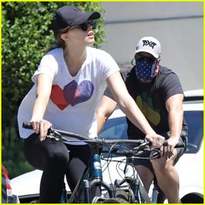 Katherine Schwarzenegger & Chris Pratt Go for Bike Ride Before Pregnancy News is Revealed