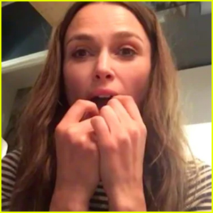 Keira Knightley Plays 'Yesterday' by The Beatles on Her Teeth - Watch!