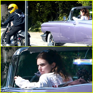 Kendall Jenner Goes for a Drive with Harry Styles Riding Next to Her!