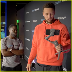 Kevin Hart Hilariously Teaches Stephen Curry How to Vlog - Watch!