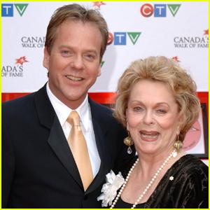 Kiefer Sutherland's Mom Shirley Douglas Dies of Pneumonia