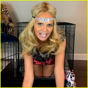 Kristin Chenoweth Parodies Tiger King's Carole Baskin in New 'Little Pieces' Music Video!